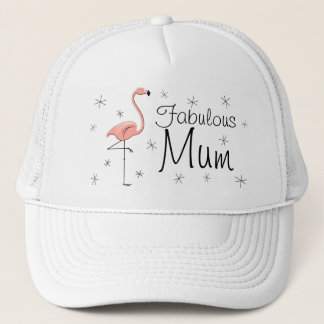 Flamingo 'Fabulous Mum' Trucker hat