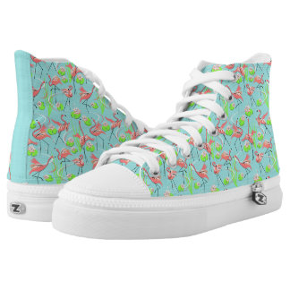 Flamingo Fandango hi top shoe