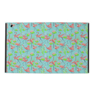 Flamingo Fandango Multi iPad case no kickstand