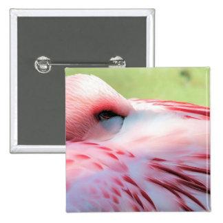 Flamingo Feathers Pin