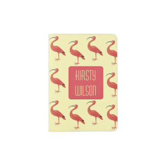 Flamingo - Fine Art Personalised Passport Holder