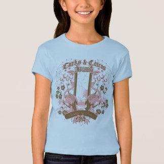 Flamingo Flower T-Shirt