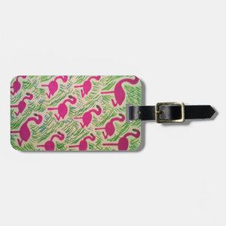 Flamingo Fun Luggage Tags