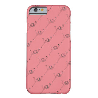 Flamingo girl barely there iPhone 6 case