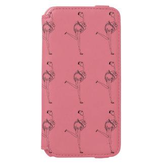 Flamingo girl incipio watson™ iPhone 6 wallet case