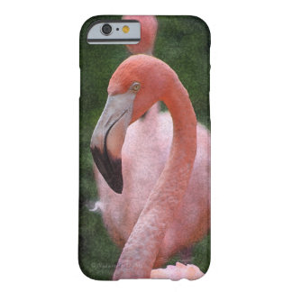 Flamingo Head Barely There iPhone 6 Case