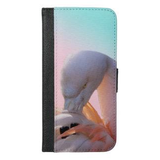 Flamingo iPhone 6 Plus Wallet Case