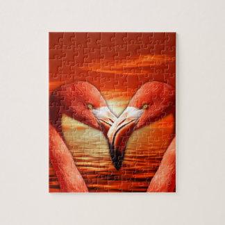 flamingo jigsaw puzzle