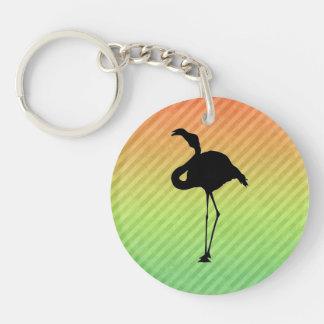 Flamingo Acrylic Keychains