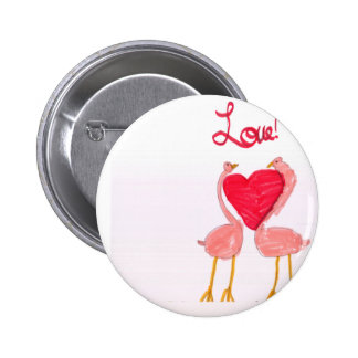 Flamingo Love Pins