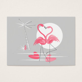 Flamingo Love business card mighty