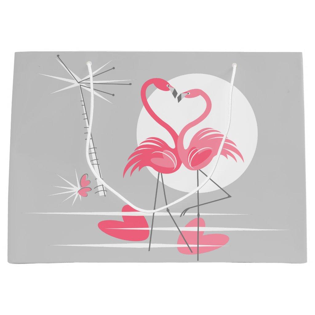 Flamingo Love gift bag