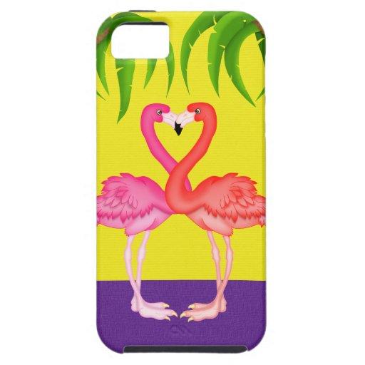 Flamingo Love -  iPhone5 Case iPhone 5 Cases