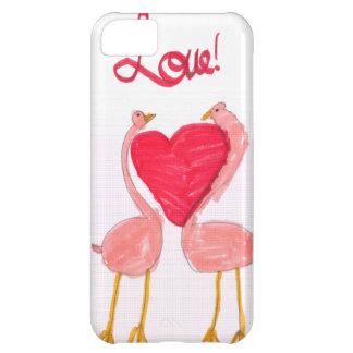 Flamingo Love iPhone 5C Case