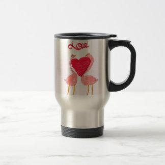 Flamingo Love Coffee Mugs