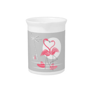 Flamingo Love pitcher