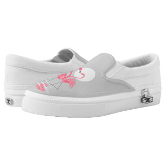 Flamingo Love slip on shoes