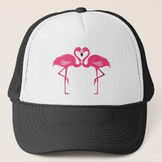 Flamingo Love Trucker Hat