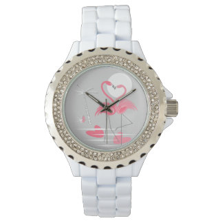 Flamingo Love watch