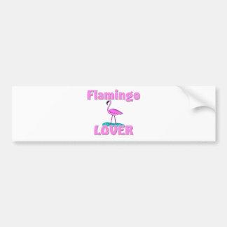 Flamingo Lover Bumper Sticker