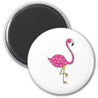 flamingo fridge magnet