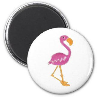 Flamingo Refrigerator Magnets