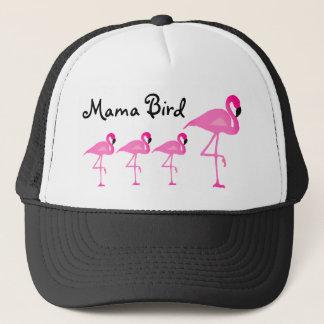 Flamingo Mama Bird Trucker Hat