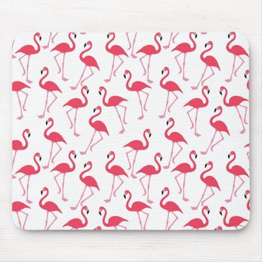 Flamingo Mania Mouse Pad