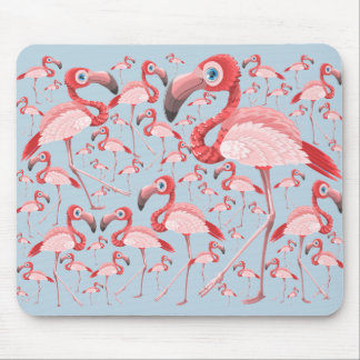 Flamingo Mouse Mat