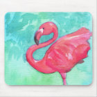 Flamingo Mouse Pad