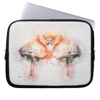 Flamingo Neoprene Laptop Sleeve 10 inch