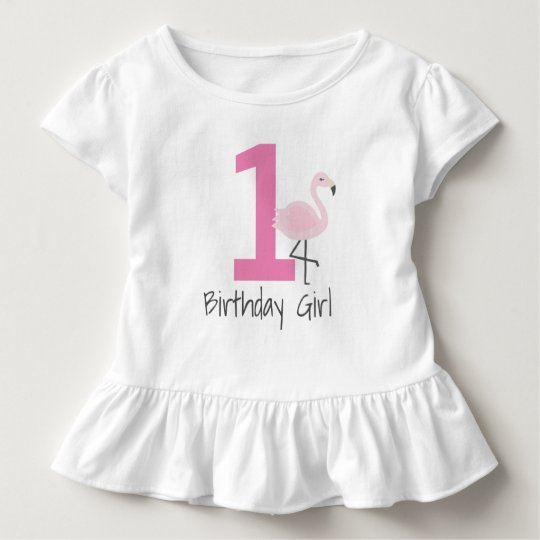 Flamingo Number Birthday Shirt (Can Change Age)