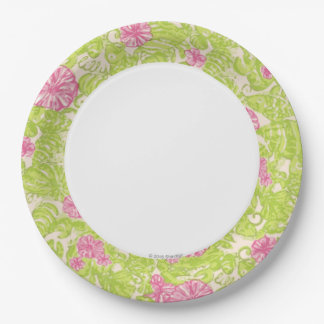 Flamingo Paper Plate 9 Inch Paper Plate