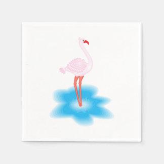 Flamingo Paper Serviettes