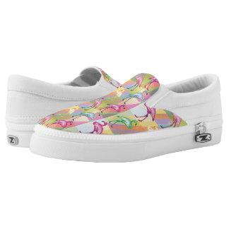 Flamingo Parade Slip On Shoes