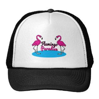 Flamingo Paradise Mesh Hats