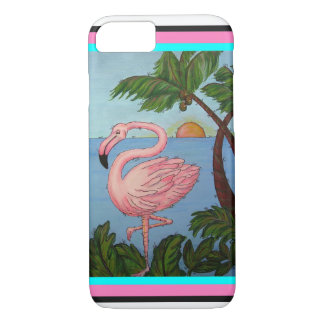 Flamingo Paradise Phone Case
