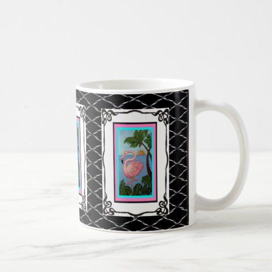Flamingo Paradise Two Mug
