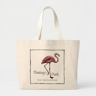 Flamingo Park totebag Jumbo Tote Bag