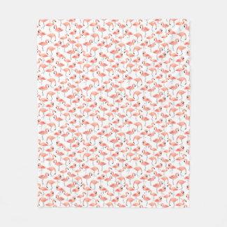 Flamingo Party Fleece Blanket