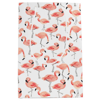 Flamingo Party Medium Gift Bag