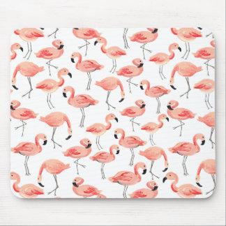 Flamingo Party Mouse Mat