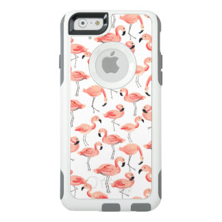 Flamingo Party OtterBox iPhone 6/6s Case