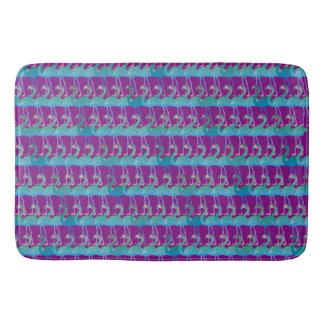 Flamingo Pattern Bath Mat - Any Color