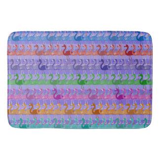 Flamingo Pattern Bath Mat (Color Purple)