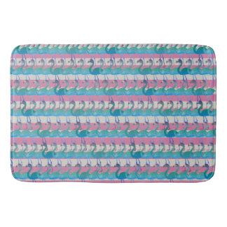 Flamingo Pattern Bath Mat (MultPink)