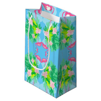 flamingo pattern Gift Bag