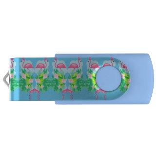 flamingo pattern USB Flash Drive
