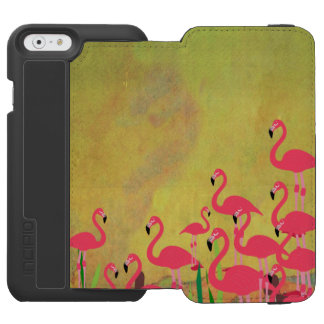 Flamingo Phone Case Incipio Watson™ iPhone 6 Wallet Case