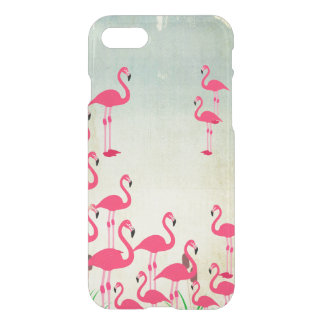 Flamingo Phone Case iPhone Clear Case